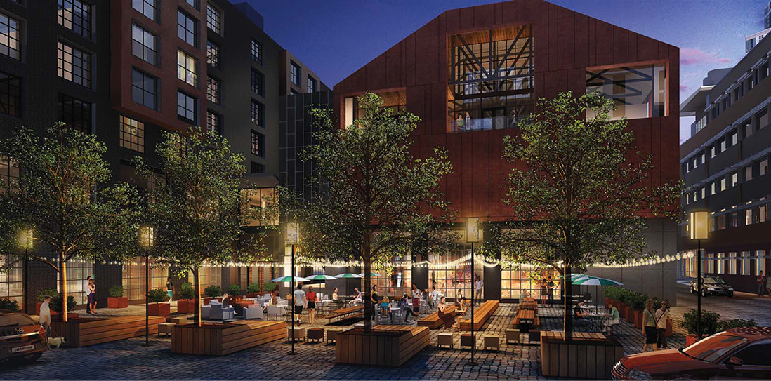 FINNEGANS Brew Co's new brewery and taproom will open in March // Rendering courtesy of FINNEGANS