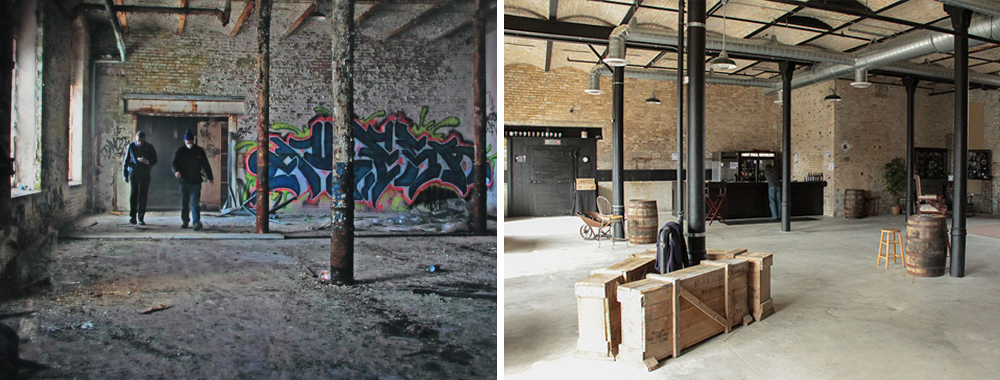 Flat Earth Before and After // Before Photo by Eryk Cianciarulo & After Photo by Joseph Alton