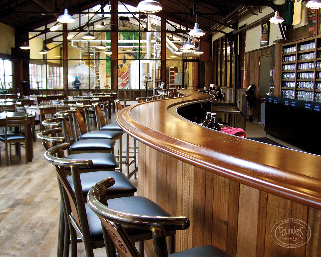 Founders Taproom :: Courtesy of Founders Brewing