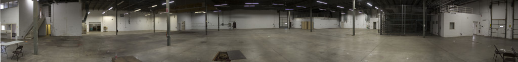 Fulton Brewing's new production facility panorama