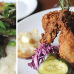 Farmhouse Ale-Braised Rabbit and Wild Acres Lemon Fried Chicken