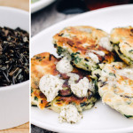 The Minnesota Spoon: savory wild rice pancakes with anchovy butter
