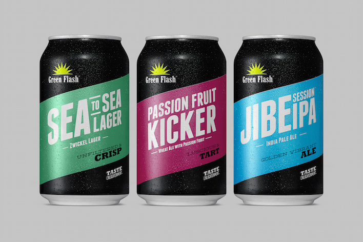 a2d8332c92f Green Flash Brewing debuts three canned beers nationally