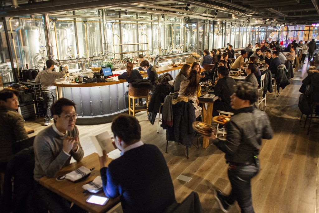 Goose Island Brewhouse in Seoul, South Korea // Photo by Robert Michael Evans