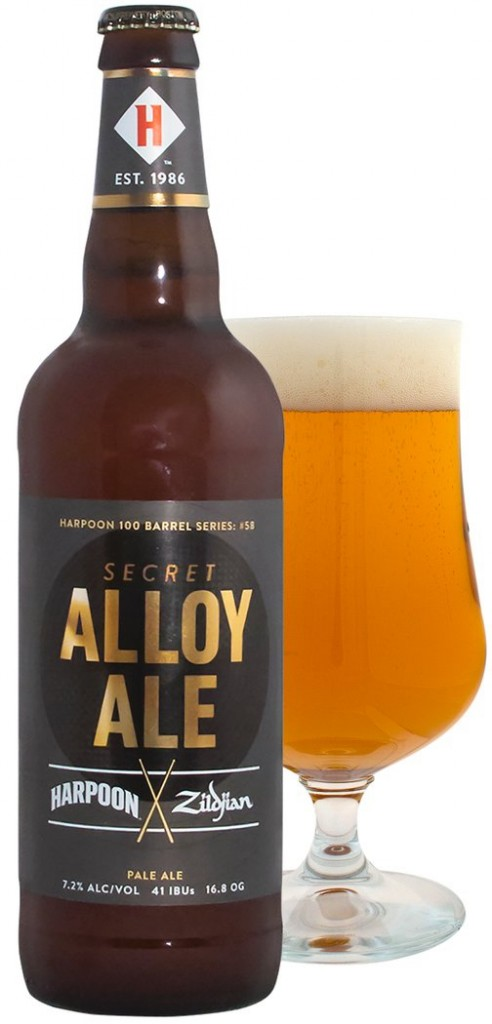 Harpoon and Zildjian's Secret Alloy Ale