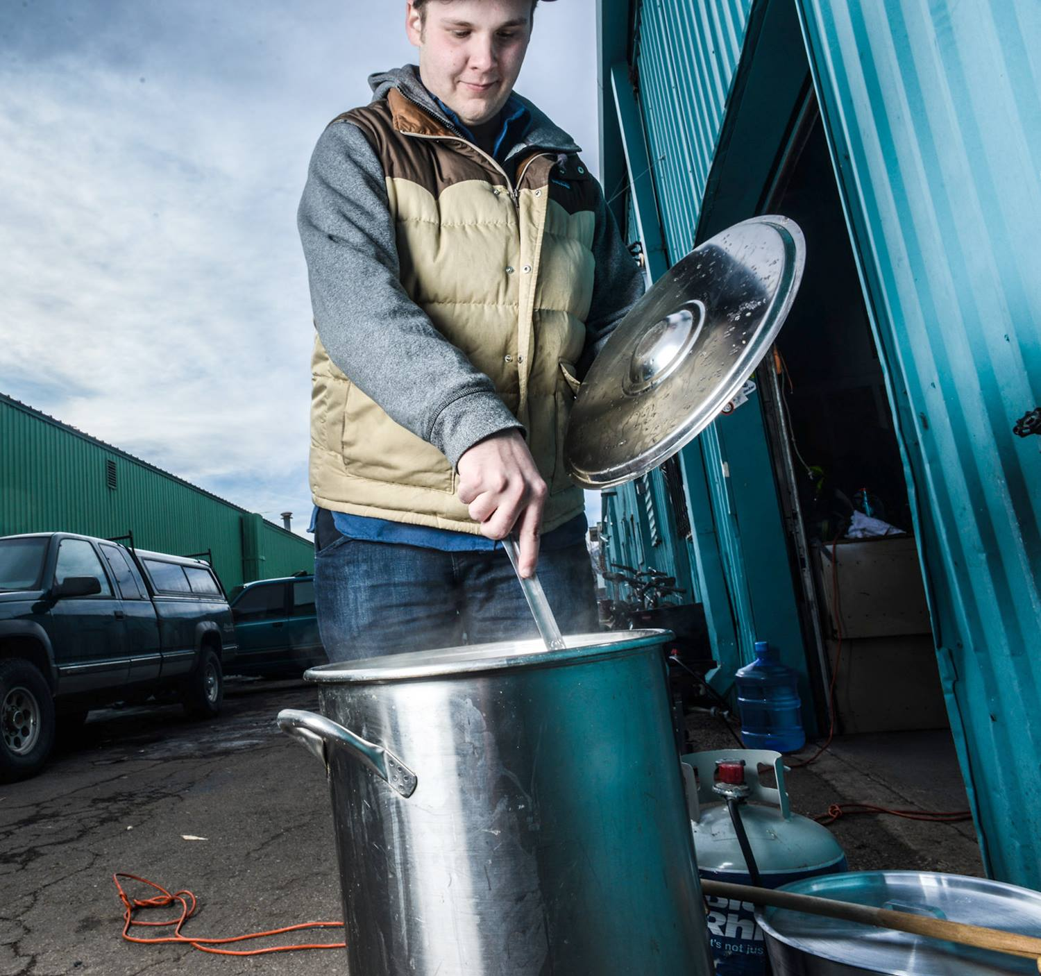 Homebrewer // Photo via American Homebrewers Association Facebook page