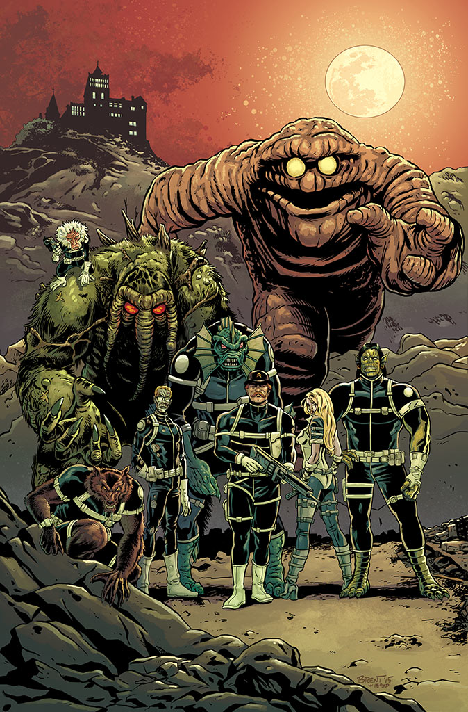 Howling Commandos of S.H.I.E.L.D Cover