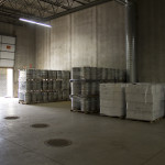 The Shipping & Receiving dock at Fulton Brewing's new production facility // Photo by Brian Kaufenberg