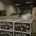 The Shipping & Receiving area of Fulton Brewing's new production facility