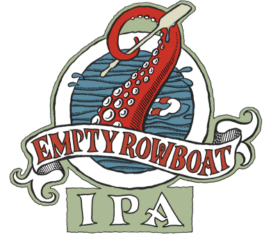 Lake Monster Empty Rowboat IPA Logo // Courtesy of Lake Monster Brewing's Website