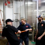 PHOTOS: New Belgium visits Indeed to brew Strawberry Fields Ale