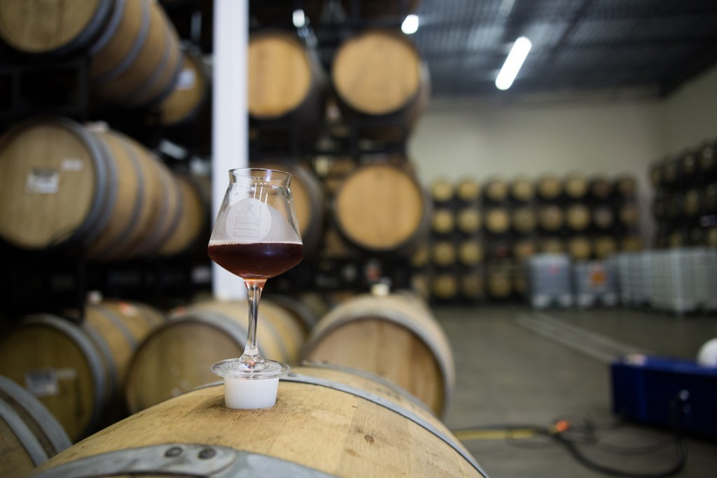 Indeed Brewing's Wooden Soul Series (Photo by Aaron Davidson // Growler Magazine)