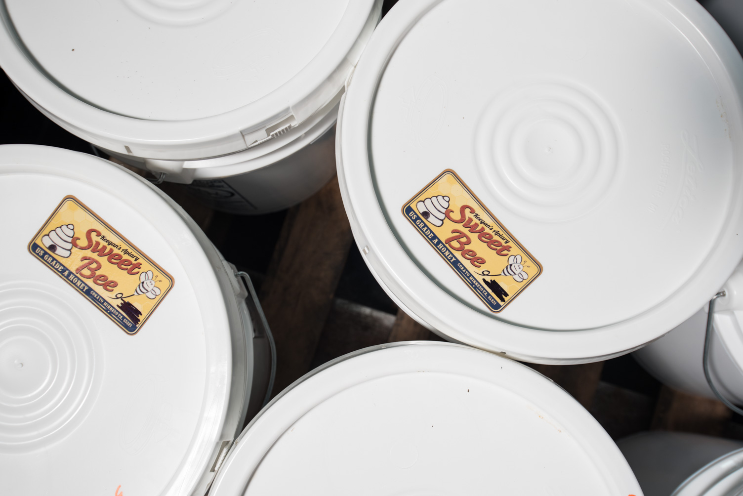 HEXIT used 600 pounds of Sweet Bee honey from Rufer's Apiaries, Inc. // Photo by Kevin Kramer
