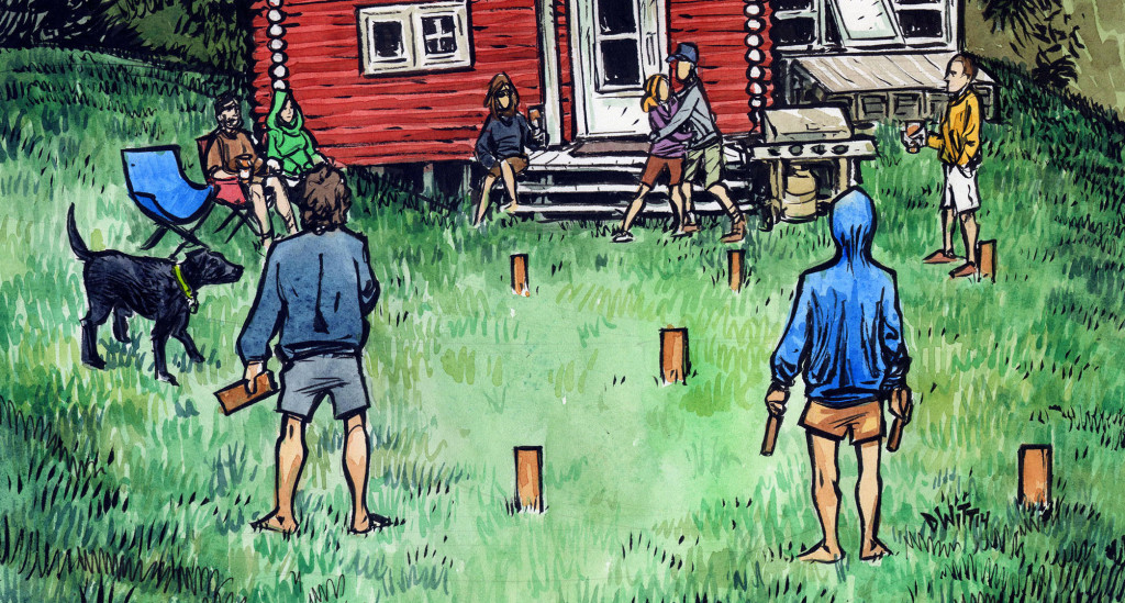 Diy How To Build And Play Your Own Kubb Set