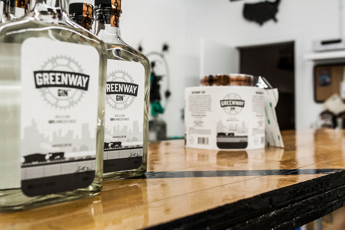 Lawless Distilling Greenway Gin // Photo by Aaron Davidson