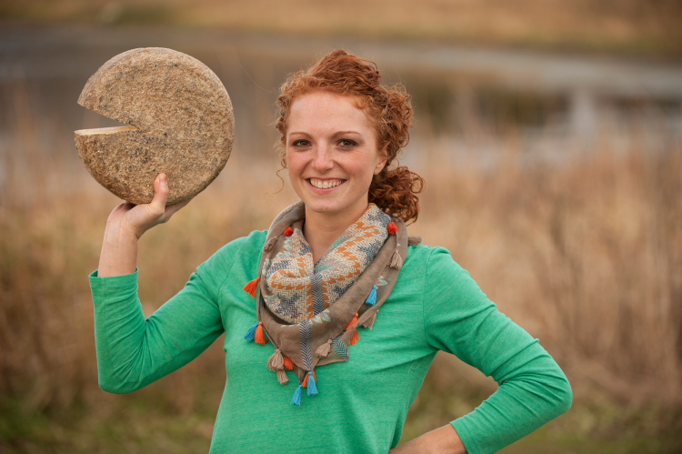 Alise Sjostrom of Redhead Creamery // Photo by Rolf Hagberg