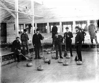 Minnesota curlers circa 1890 // Photo courtesy of the Minnesota Historical Society