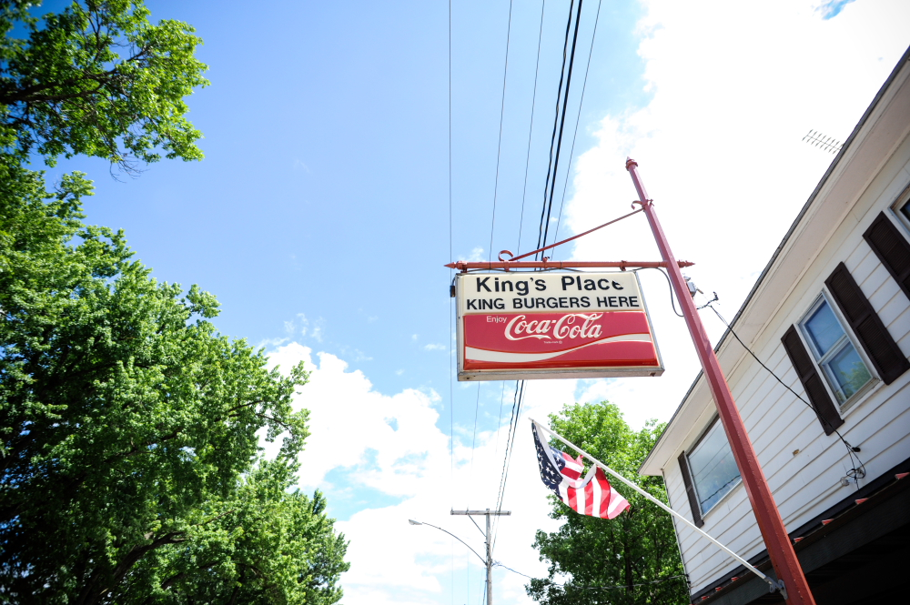 King's Place Bar & Grill, Miesville's famed burger joint // Photo by Dan Murphy