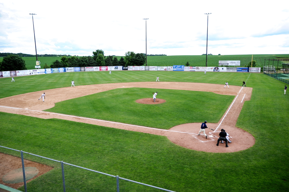 Jack Ruhr Memorial Baseball Field in Miesville, Minnesota // Photo by Dan Murphy
