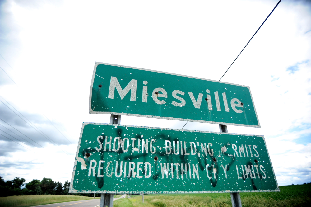 Miesville, Minnesota, population 125 // Photo by Dan Murphy