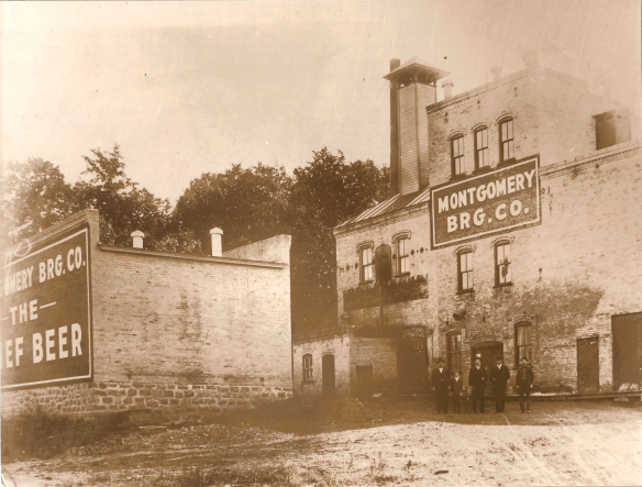 Historic Montgomery Brewing // Photo courtesy of Montgomery Historical Society