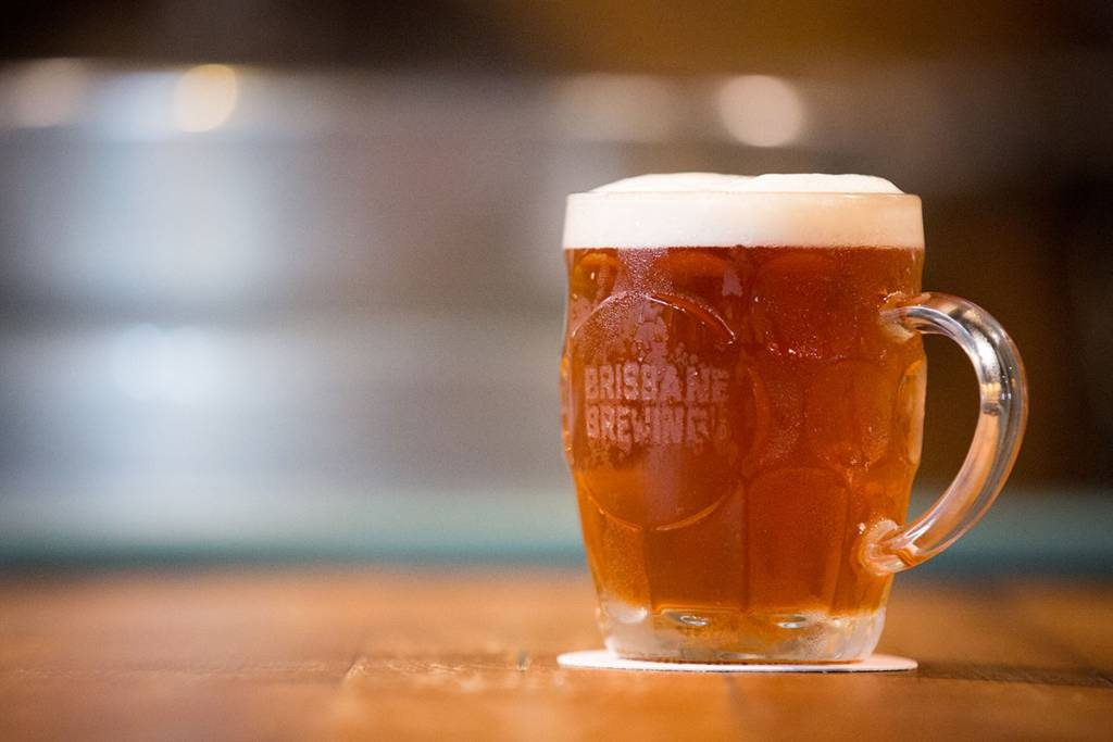 Mug of beer at Brisbane Brewing // Photo courtesy of Brisbane Brewing