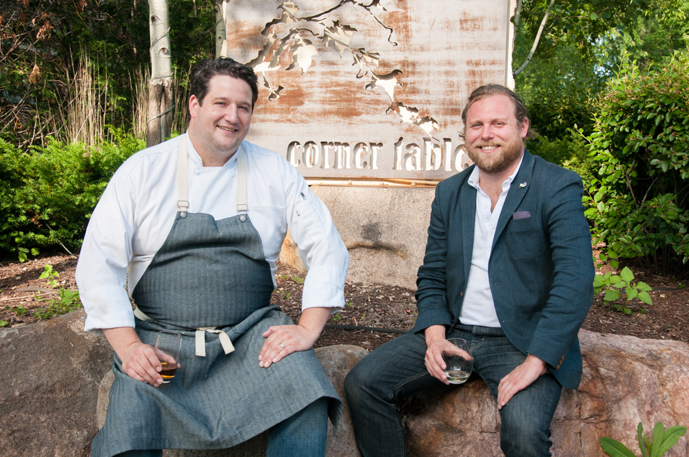 Co-Owners Chef Thomas Boemer and Nick Rancone