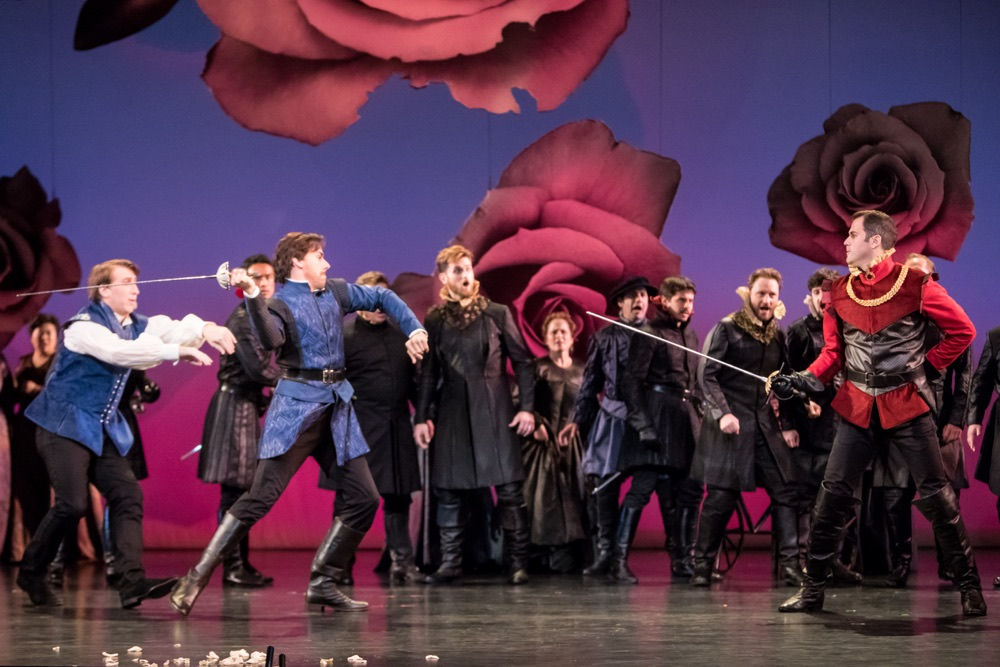 Capulets and Montagues square off at the Minnesota Oper // Photo by Dan Norman