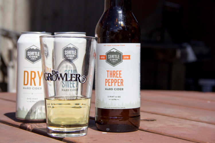 Seattle Cider's Three Peppers Hard Cider
