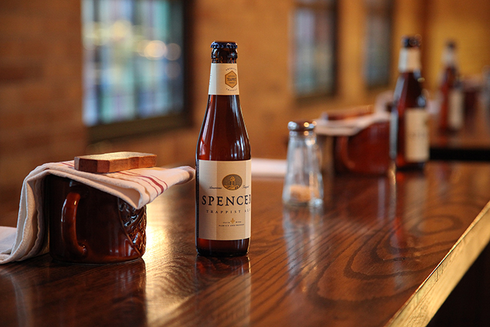 Spencer Trappist Ale // Photo by Nick Hiller