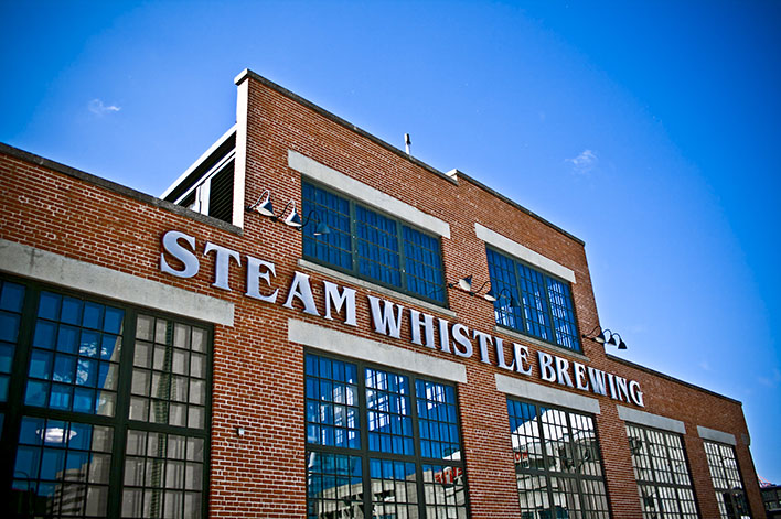 Steam Whistle Brewing- Outside brewery 2- Photo credit Steam Whistle BrewingLOW