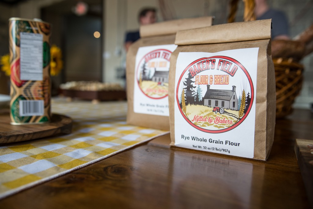 Flours from Baker's Field, Photo by Aaron Davidson // Growler Magazine