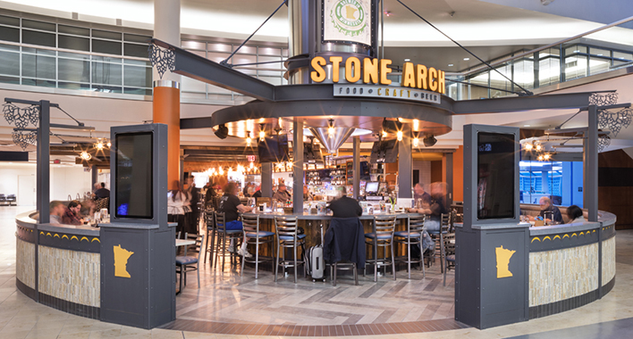 Stone Arch Restaurant Msp Airport Menu