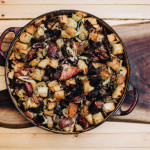 Smoked Ham Hock and Confit Gizzard Stuffing Recipe