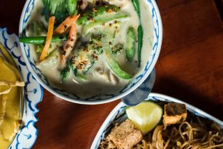 Supatra's Green Curry // Photo by Kevin Kramer