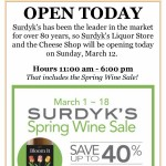 Surdyk's Liquor & Cheese Shop fined $2,000 for early Sunday liquor sales