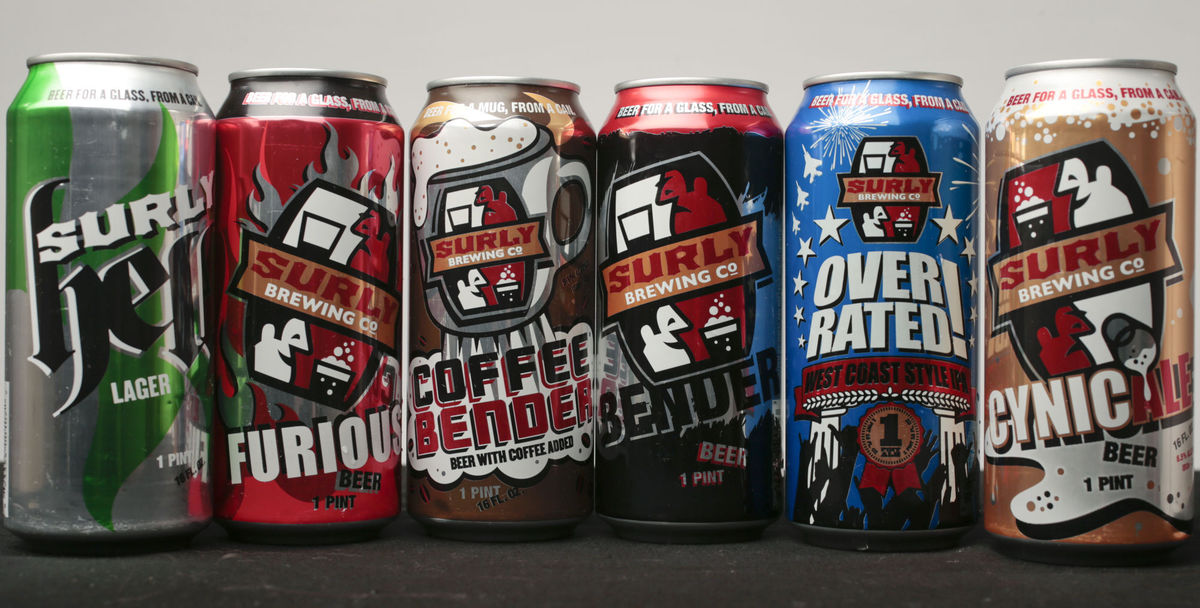 Surly Beer Cans