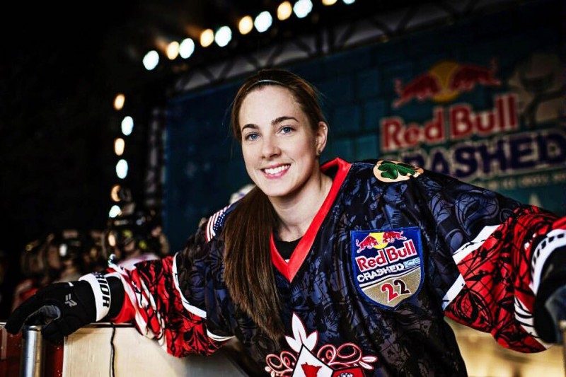 Sydney O'Keefe // Photo courtesy of Red Bull Crashed Ice