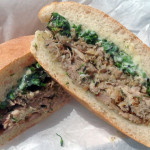 Porchetta sandwich at Terzo Vino Bar