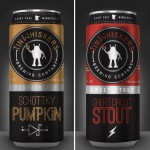 Tin Whiskers Schottky Pumpkin & Short Circuit Stout available in cans
