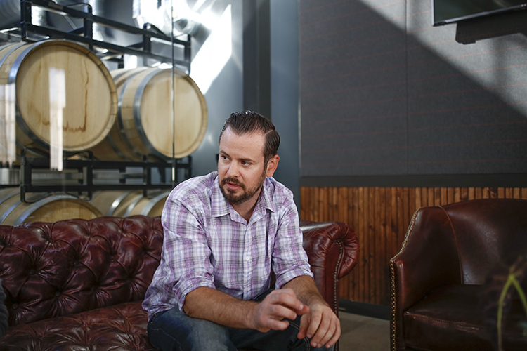 Tattersall Distilling co-owner Dan Oskey // Photo by Aaron Davidson