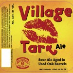 Brau Brothers Village Tart label // Courtesy of Brau Brothers