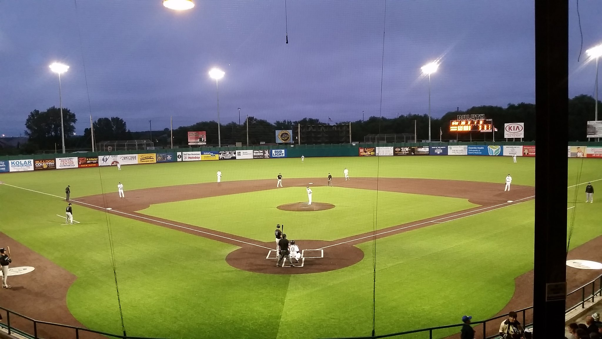 Wade Stadium, the home of the Duluth Huskies // Photo via Northwoods League