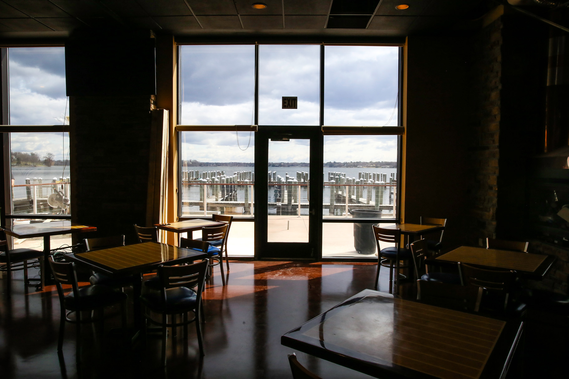 View from Wayzata Brew Works taproom // Photo by Aaron Davidson