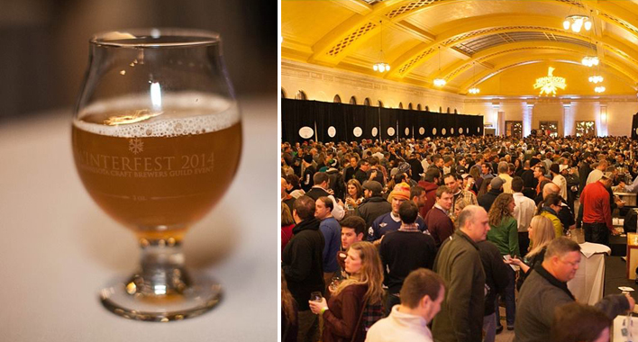 Winterfest 2014 at the Union Depot // Photo by JaneCrane Photography