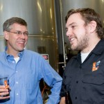 Rep. Erik Paulsen and Co-Owner Jon Messier