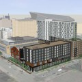 "Downtown Minneapolis ""brewtel"" concept to include Finnegans brewery AUGUST 21, 2015 BY THE GROWLER 0 COMMENTS (EDIT) 19 kraus-anderson Kraus-Anderson's plan for its Elliot Park development, which will include a new Finnegans microbrewery // Courtesy ESG Architects via The Journal"