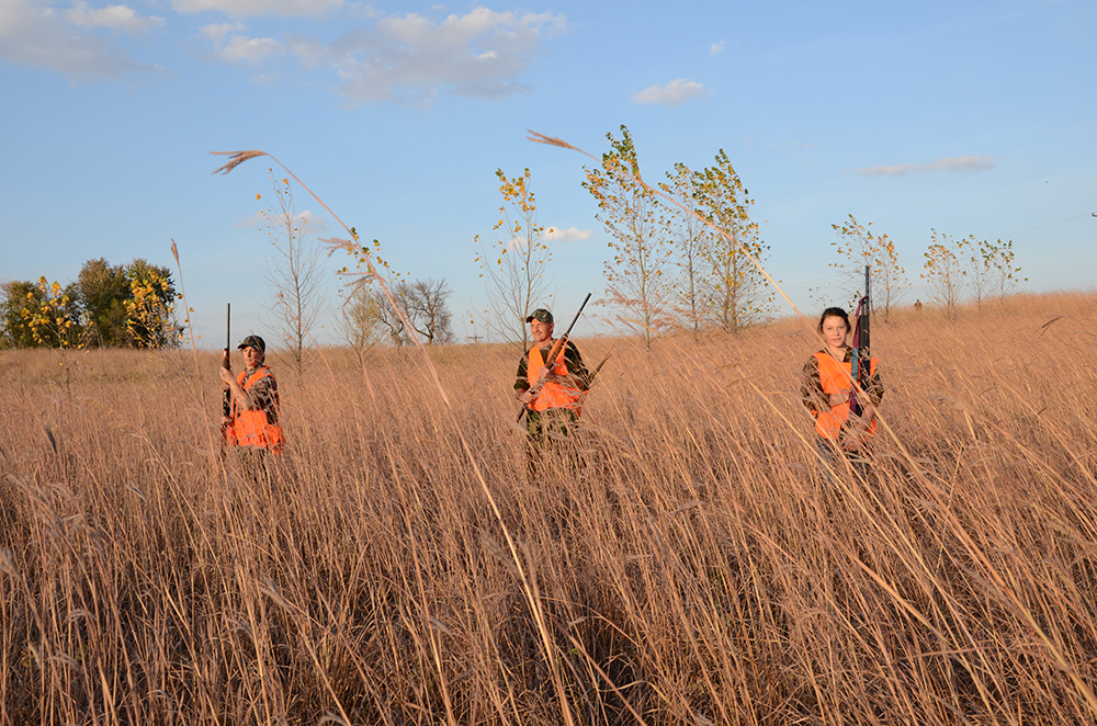Pheasant hunters in MN // Photo courtesy of