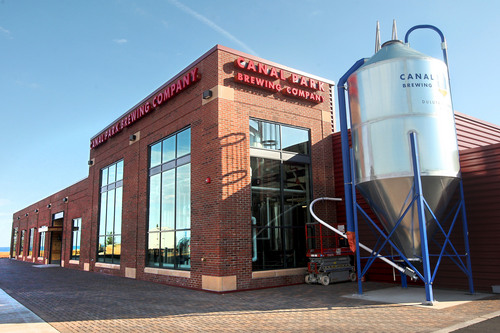 Canal Park Brewing With Fresh Hops From Local Farm
