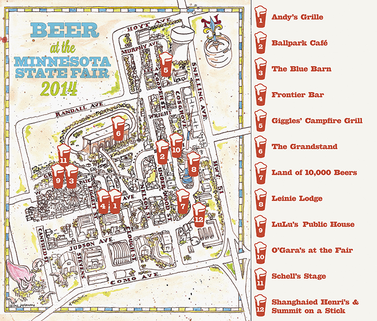 The Growler S Guide To Craft Beer At The Minnesota State Fair 2014